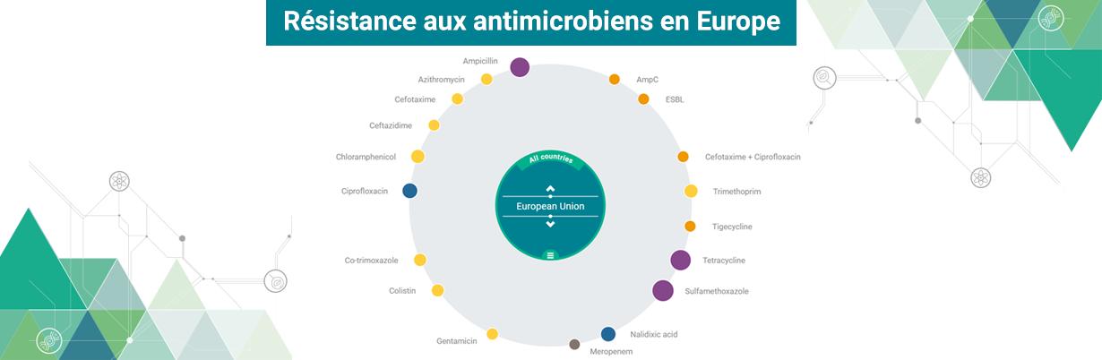 Résistance aux antimicrobiens en Europe