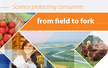 Science protecting consumers from field to fork