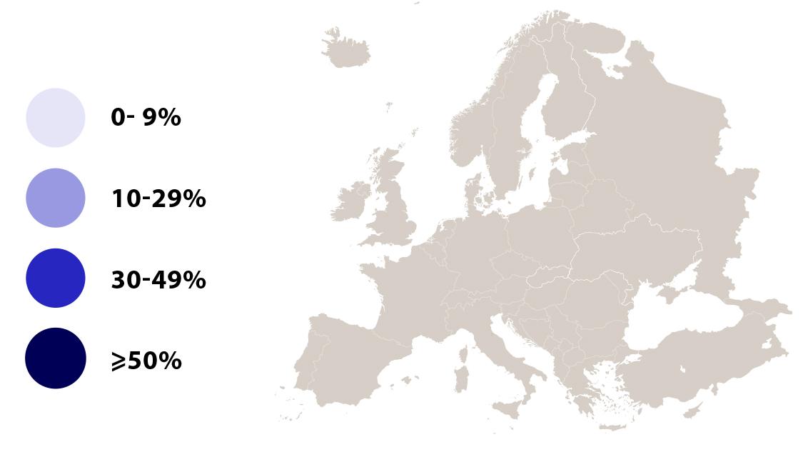Eurobarometer 2019 map