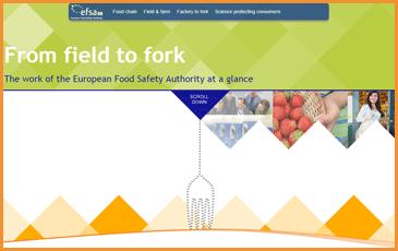 Die Rolle der EFSA vom Erzeuger zum Verbraucher